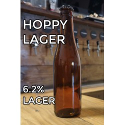 Hoppy Lager- 330ml Bottle
