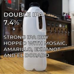 4 hop Double IPA  - 2 pints