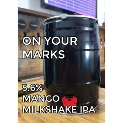 On your marks 5l minikeg